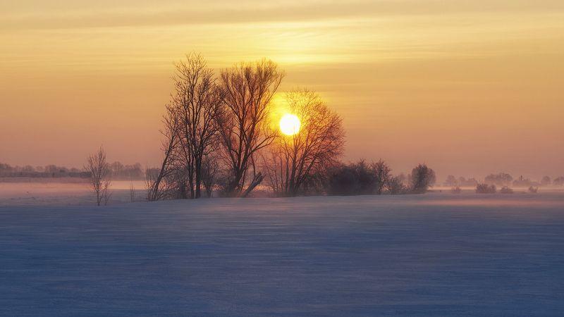landscape Winter sunrisephoto preview