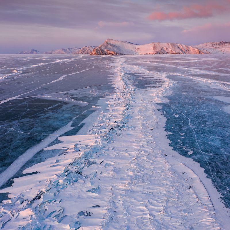 байкал, аэрофотография, baikal Ледяные торосы Байкалаphoto preview