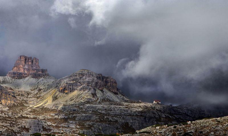 Облачно в Альпах фото превью