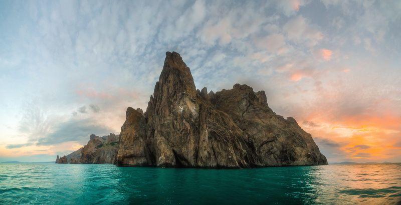 крым, кара-даг, вулкан, коктебель, рассвет, Древний вулкан Кара-Дагphoto preview