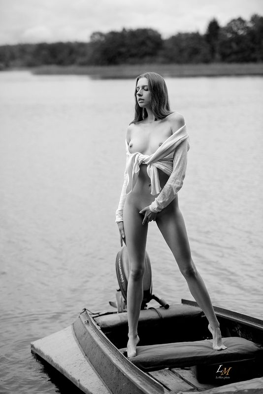 ню, озеро, селигер, лодка, фотовыезд, природа, нюфотограф ***photo preview