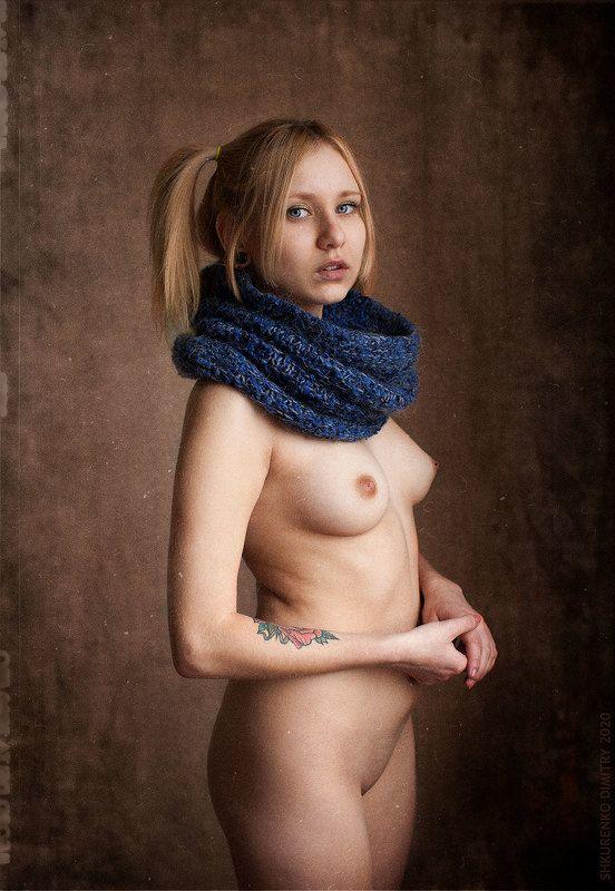 Winter portrait photo preview