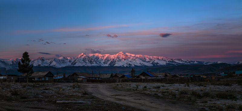 Рассвет над Кураем. Сентябрь 2020photo preview