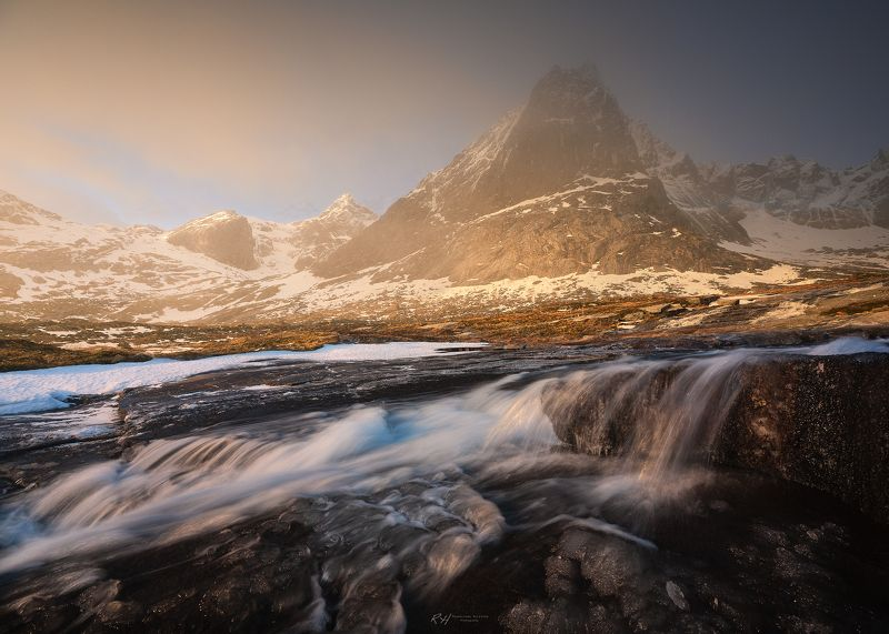 #mountains #landscape #sunrise #norway Sweet Harmonyphoto preview