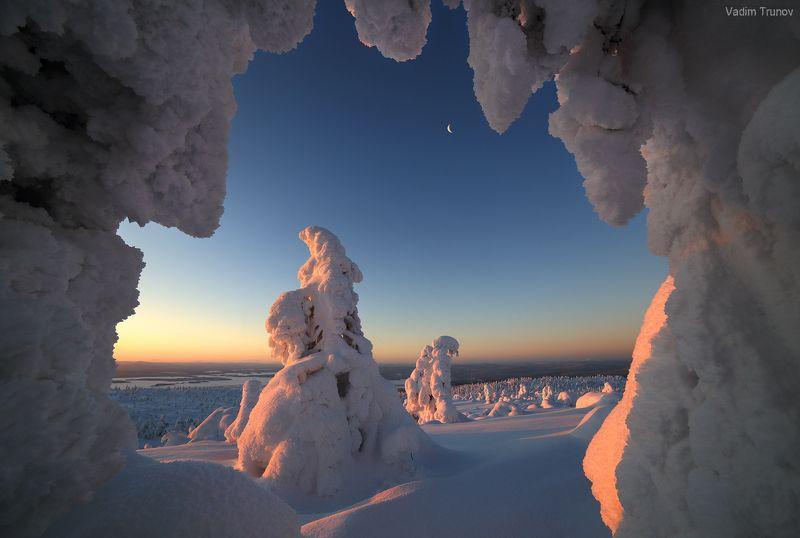 кольский, север, заполярье Снежная аркаphoto preview