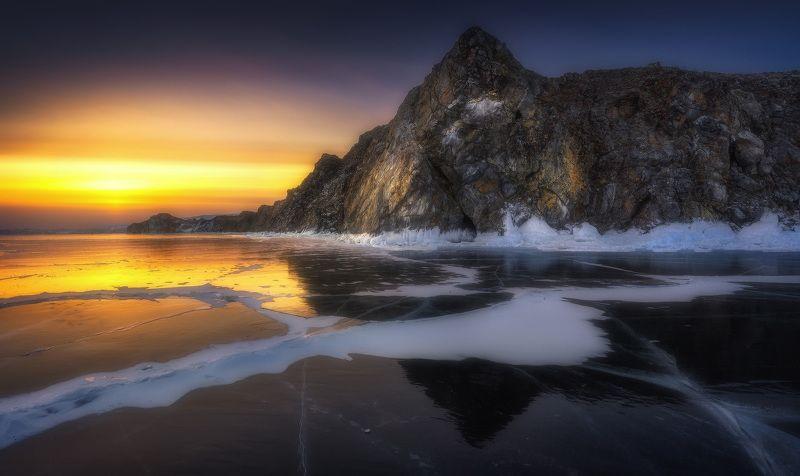 байкал, сибирь, ольтрек Закатный Ольтрекphoto preview