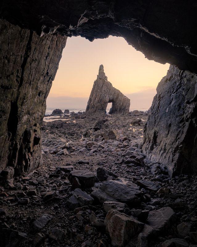 landscape,asturias, spain, arch, ocean, испания, астурия, море, океан Asturias Archphoto preview