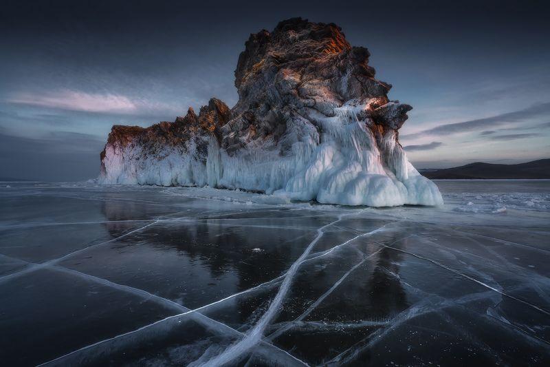 байкал, огой, сибирь, зима Байкальский гигантphoto preview