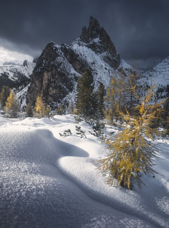 #landscape #mountains #dolomites #italy #sunset Follow the shadows фото превью