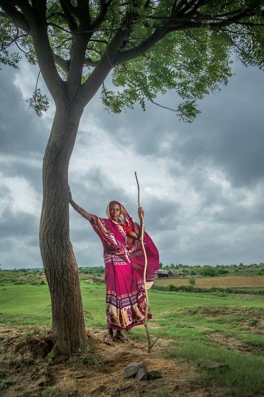 rural, lady, monsoon Rural beauty...photo preview