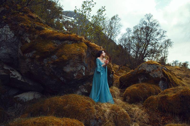Portrait, nature, woman, feel -photo preview