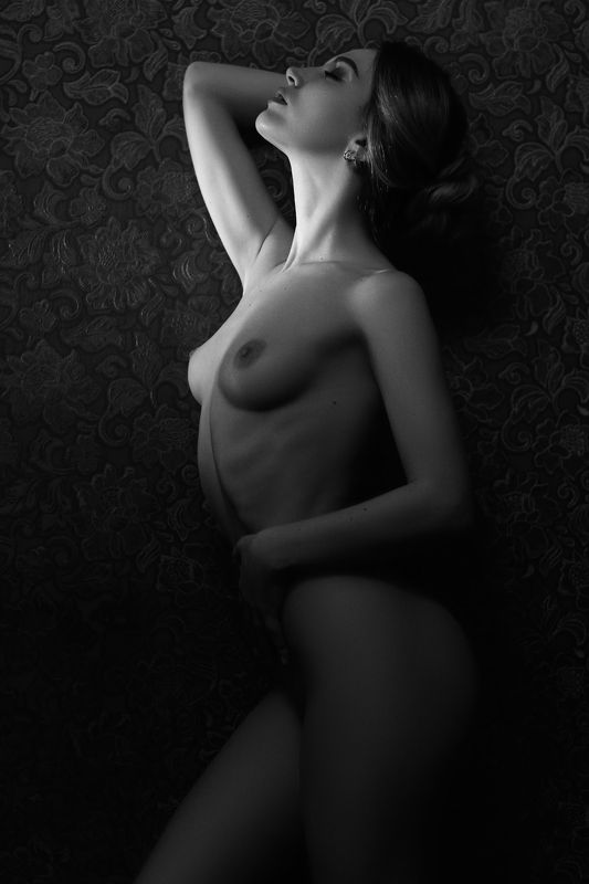 nude,b&w,девушка,ню,model,ч/б Lightphoto preview