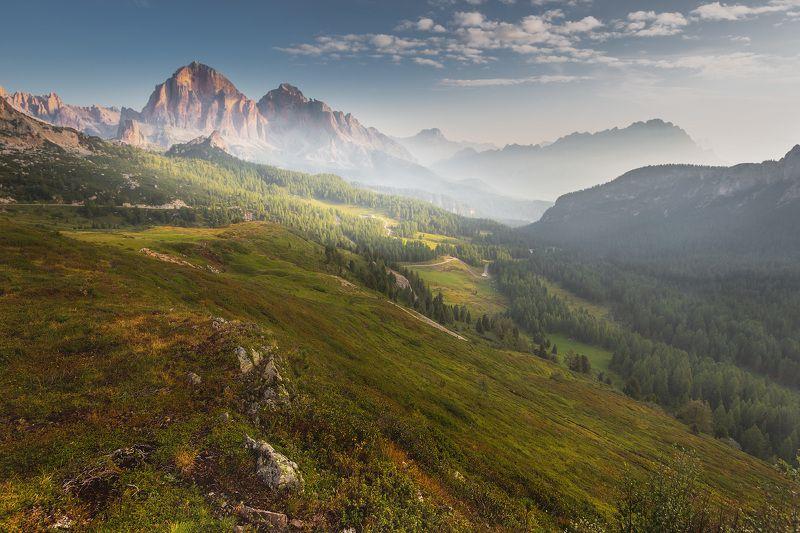 италия, доломиты, горы, облака, восход, осень, природа, landscape, italy, dolomites, golden hour, golden light, sunrise Доломиты.photo preview