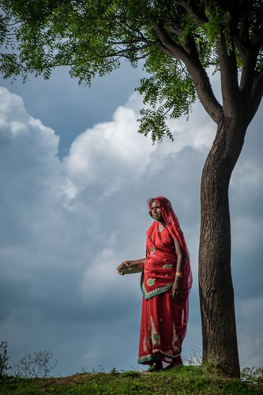 village lady life Rural...photo preview