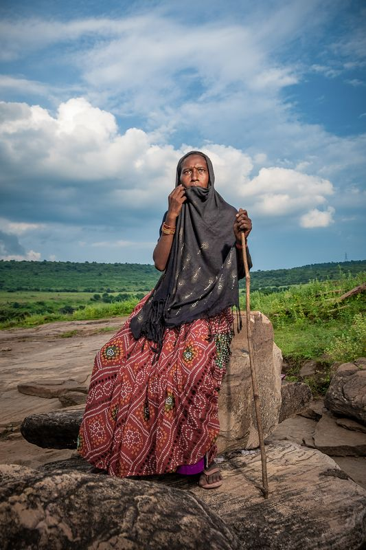 lady rural mountains Nomad...photo preview