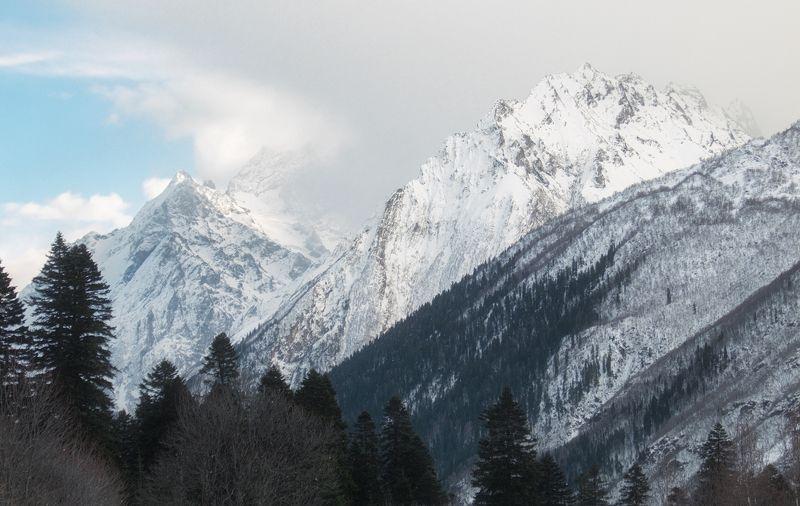 кавказ,горы,mountain Soulphoto preview