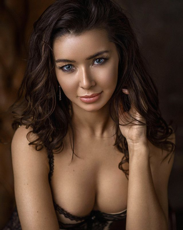 портрет девушка взгляд portrait белье красиво Таняphoto preview