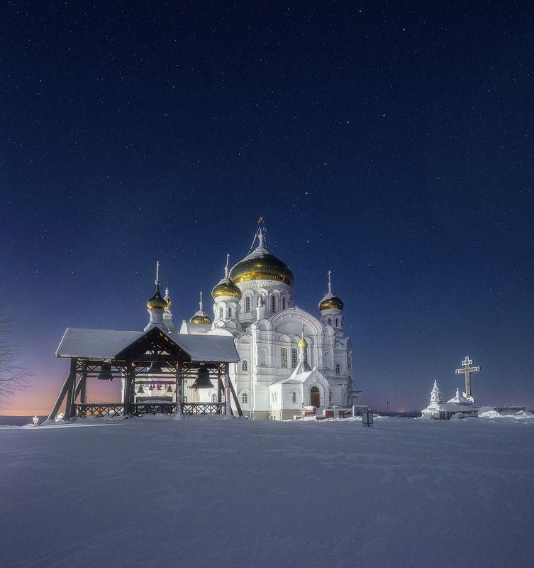 Ясная ночь в Белогорьеphoto preview