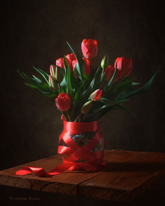 тюльпаны к празднику,,photo preview