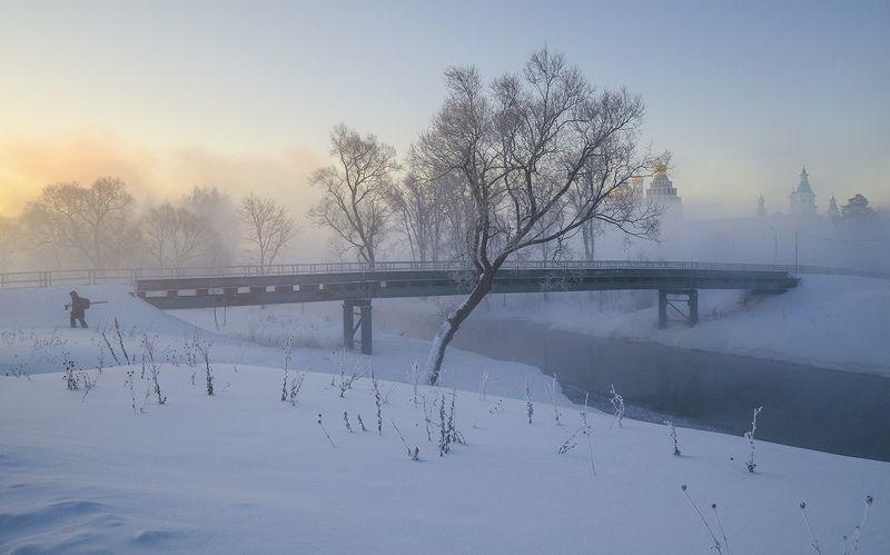 зима, утро, истра За новыми пейзажамиphoto preview