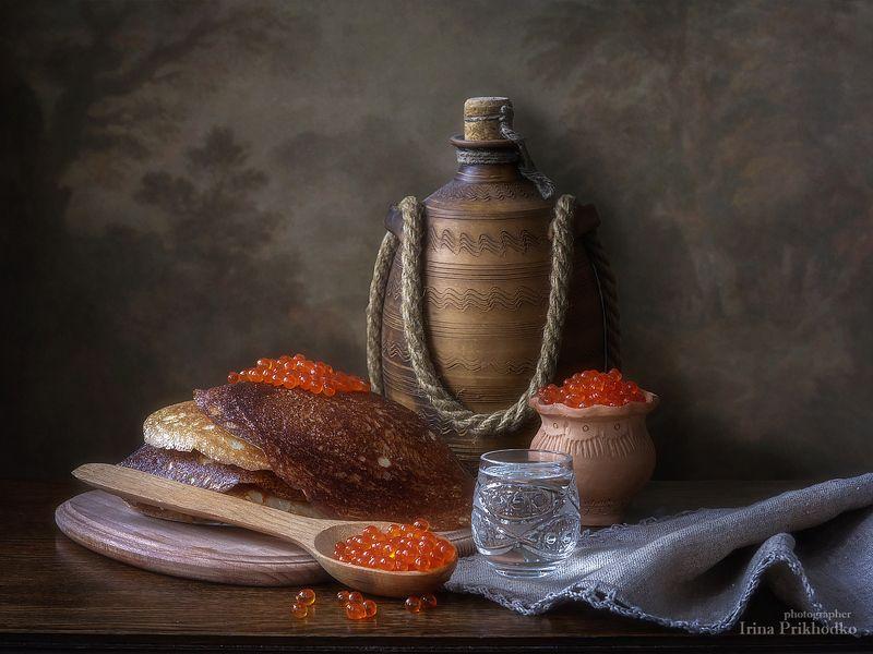 натюрморт, масленица, блины, икра, художественное фото, еда Масленица пришла!photo preview
