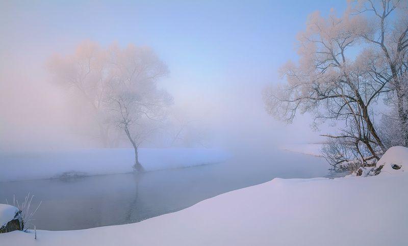 Зимняя акварель.photo preview