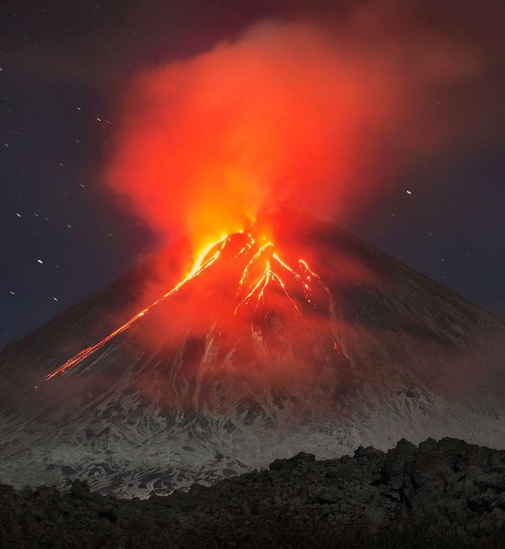 камчатка, вулкан, ключевской Ключевской...photo preview