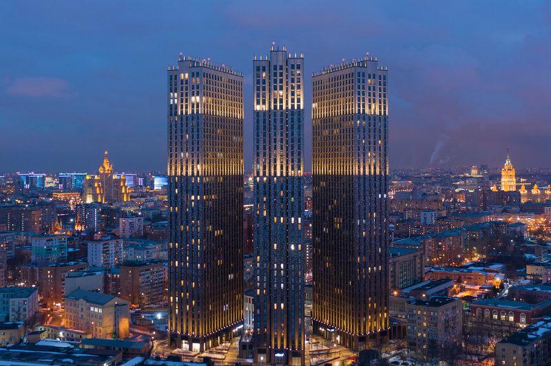 presnya city, пресня сити, жк, москва, небоскреб, росия Жилой комплекс Персня Ситиphoto preview