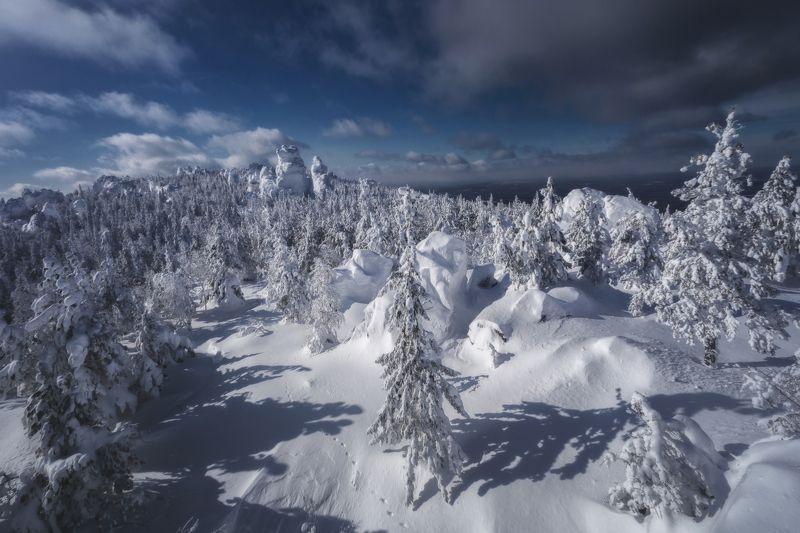 озеро, горы, лес, природа, закат, рассвет, красота, приключения, путешествие, облака Сказки Кчканараphoto preview