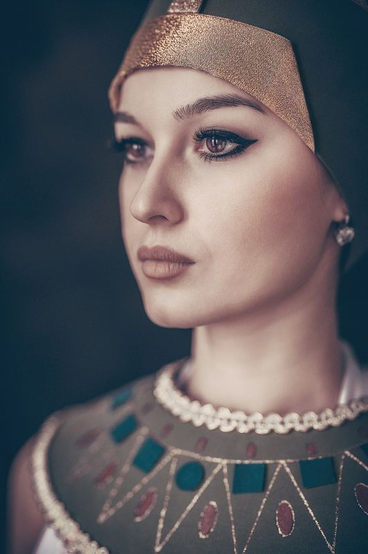 Portrait, Girl, Nefertiti Марияphoto preview