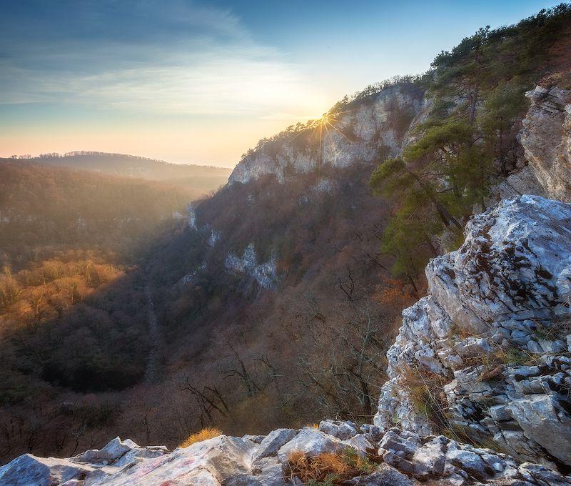 горы, скалы, закат, сочи ***photo preview