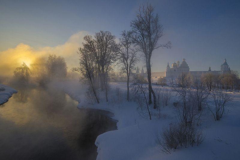зима, утро, истра Февраль на Истреphoto preview