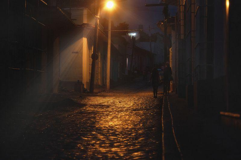 Ночь, улица, фонарьphoto preview