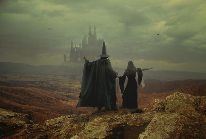горы, чародеи *****photo preview