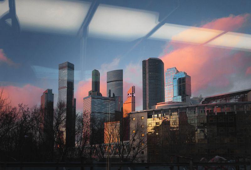 москва, москва-сити, метро ***photo preview