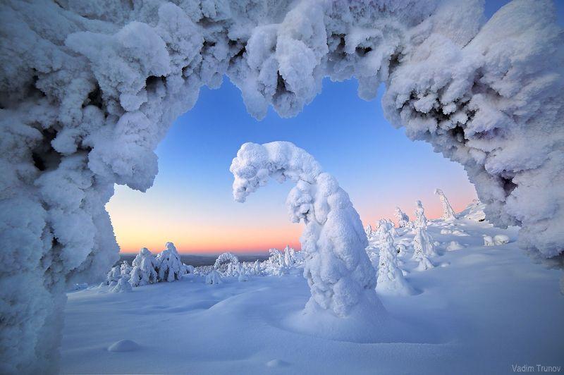 кольский, север, заполярье Снежный драконphoto preview