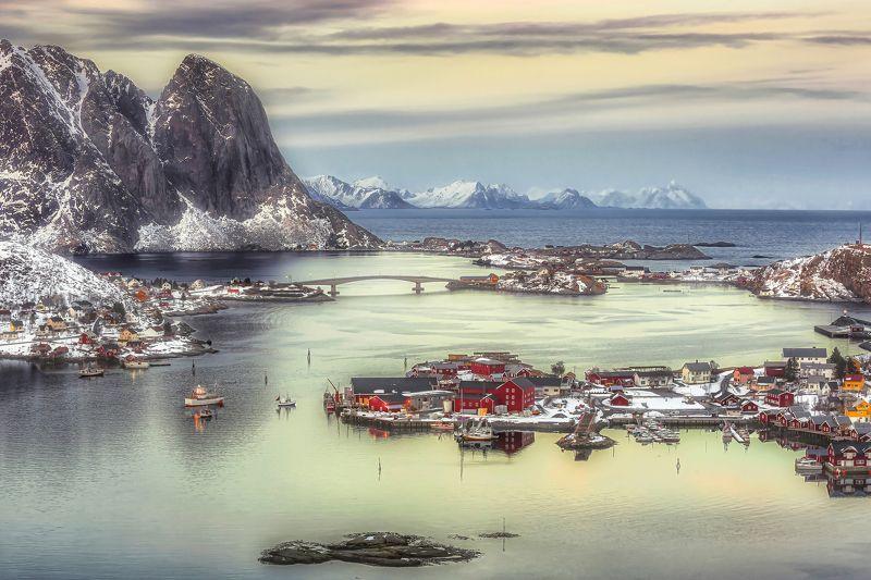 лофотенские острова, норвегия, рейне, лофотены, norway, lofoten islands, reine, зима Из жизни Лофотенphoto preview