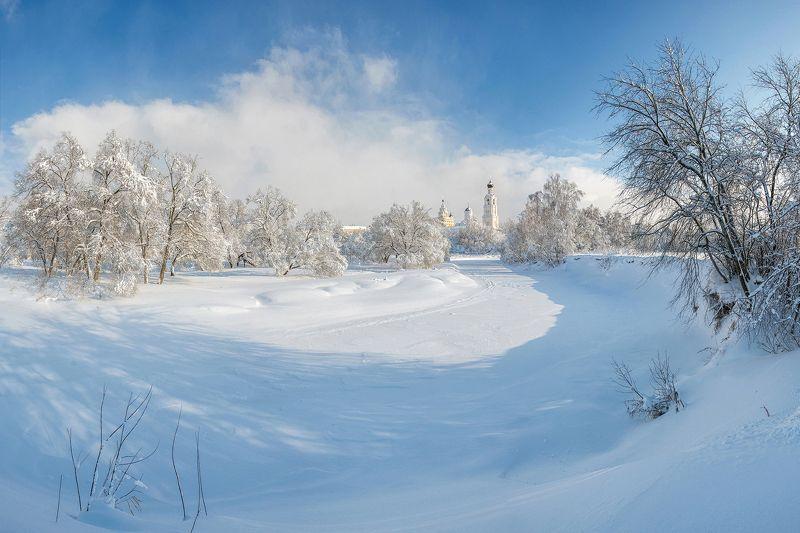 Зима на реке Киржачphoto preview