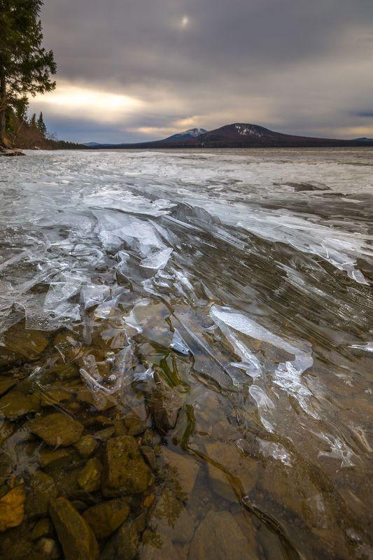 озеро камни горы урал пейзаж Осколки озераphoto preview