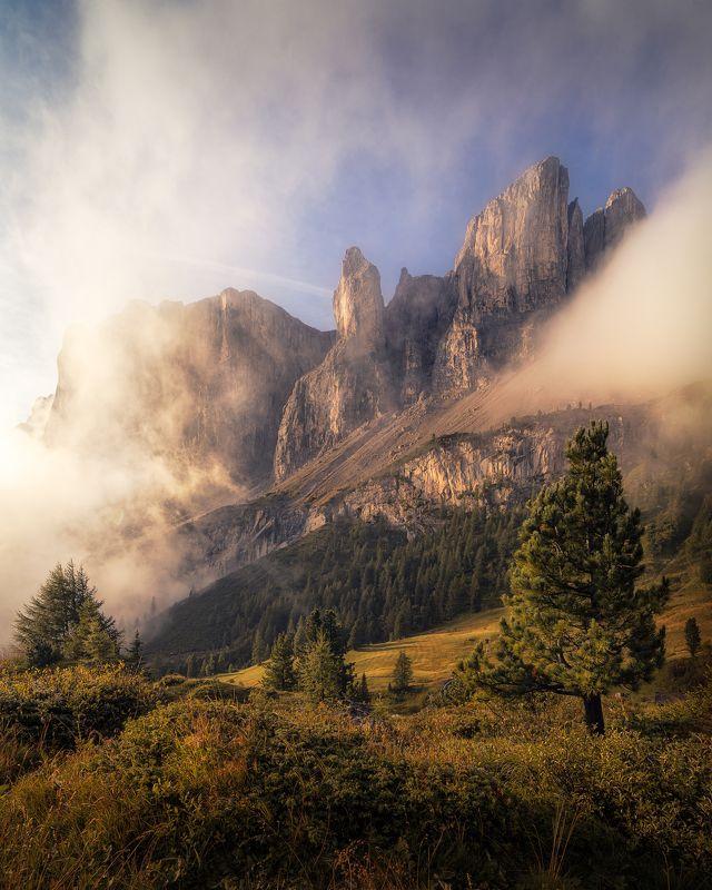 landscape, gardena, italy, dolomites, доломиты, горы, италия, гардена Gardena Passphoto preview