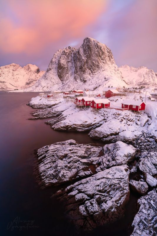 norway, lofoten, winter, north, islands, iconic photo preview