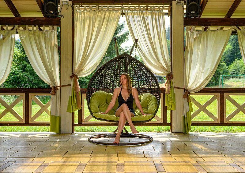woman, relax, day, symmetry Symmetryphoto preview