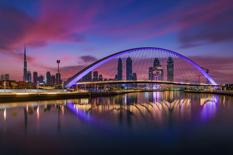 cityscape, dubai, sunrise, photography, nikon, colors, architecture photo preview