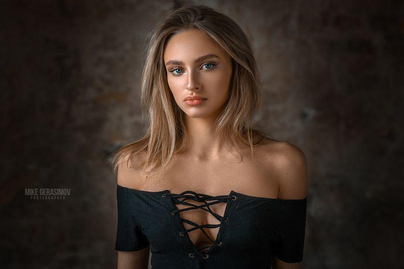 портрет девушка взгляд portrait красиво Лераphoto preview