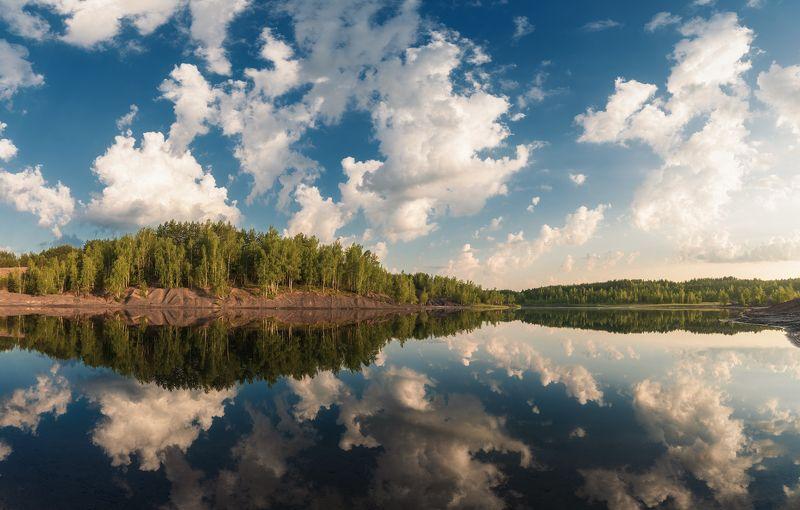 лето, карьер, суворов, утро, пейзаж Natural mirrorphoto preview
