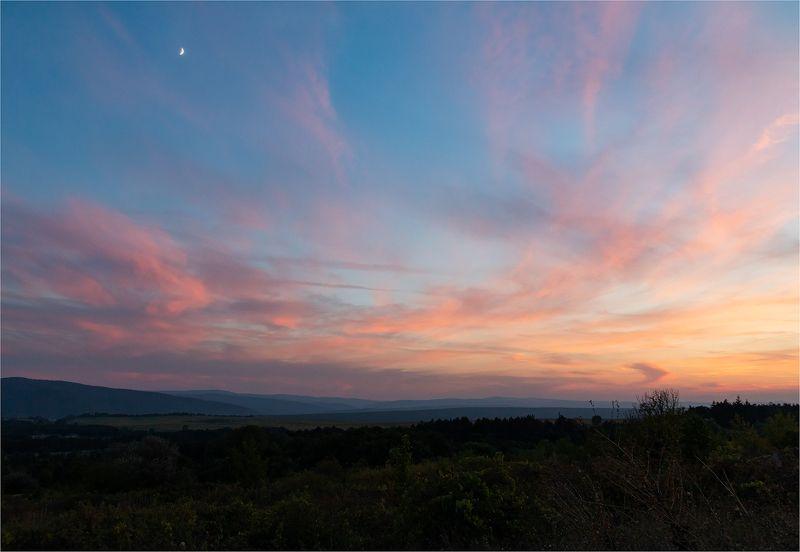 Тихий вечер наедине с небомphoto preview