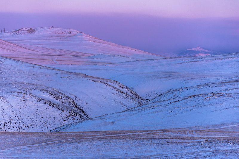 Рассветные краски Тажеранской степиphoto preview