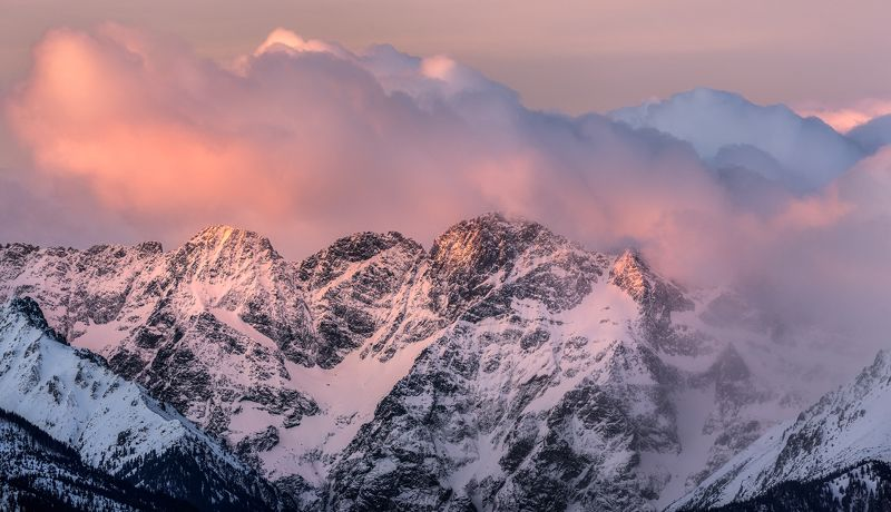 Tatry\'s morning lightphoto preview