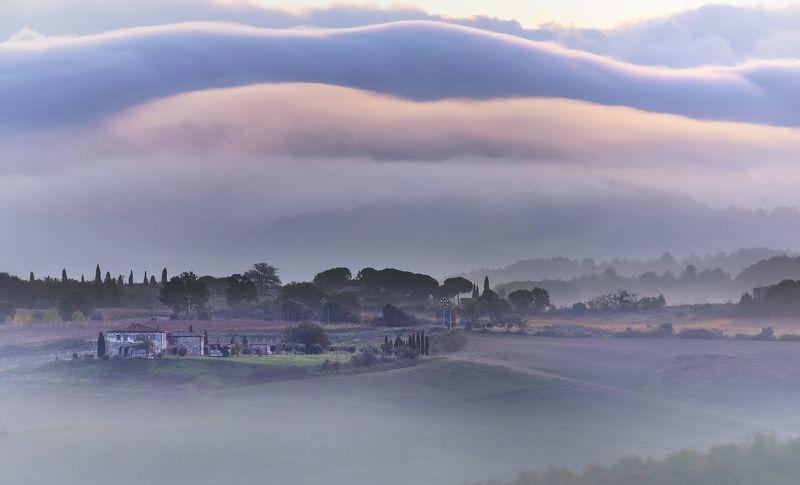 Cloud line of dawnphoto preview