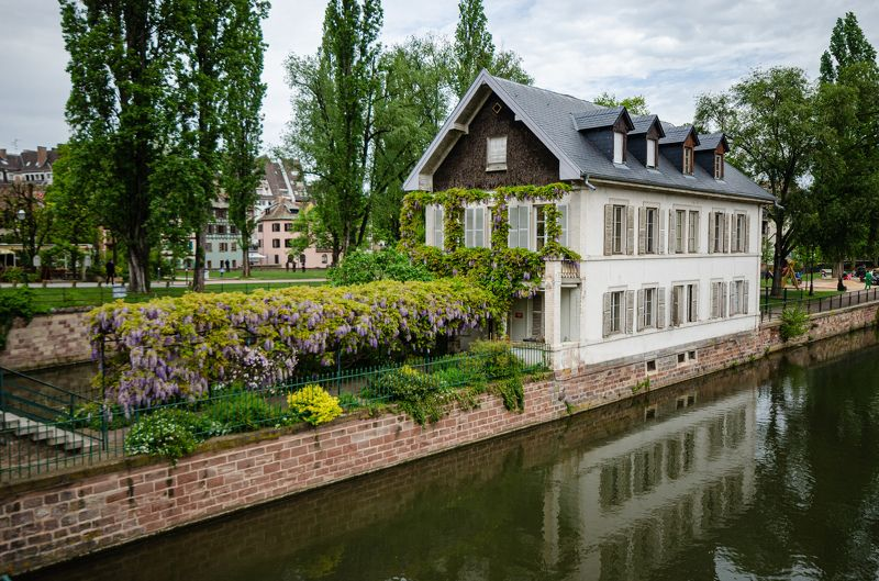 France; buildings; city; cityscape; historical; oldcity; oldtown; reflection; sky; street; streets; town; travel; water; Strasbourg;  Strasbourgphoto preview